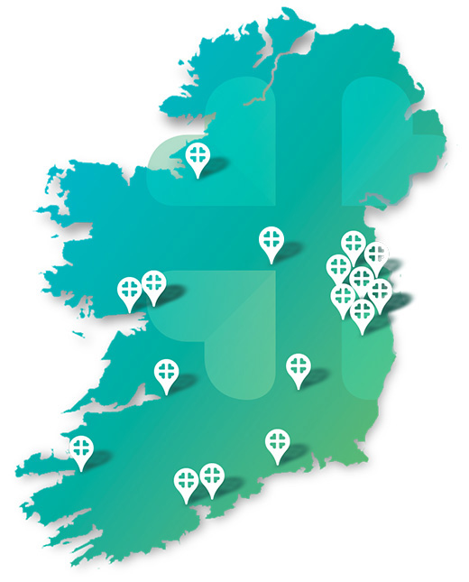 Private Hospitals Association Ireland Map Update